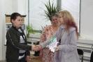 """Деца със специални потребности от """"Н. Икономов"""" с поздрав към Библиотеката"""